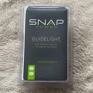 Snap Power Guidelight Duplex White